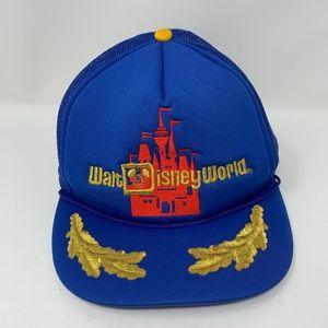 Disney World Vintage Mesh Trucker Cap Snapback 80s